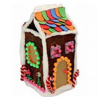 Image of Graham Cracker Milk Carton House