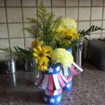 DIY July 4th Centerpiece