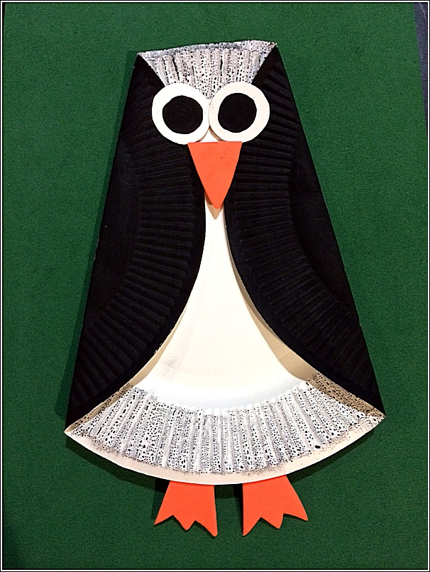 Image of Recycled Coffeemate Penguin