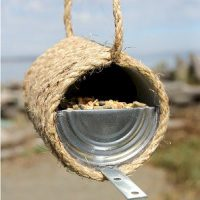 Image of Recycled Bird Feeder