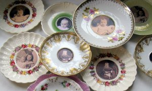 Antique Saucer Frames
