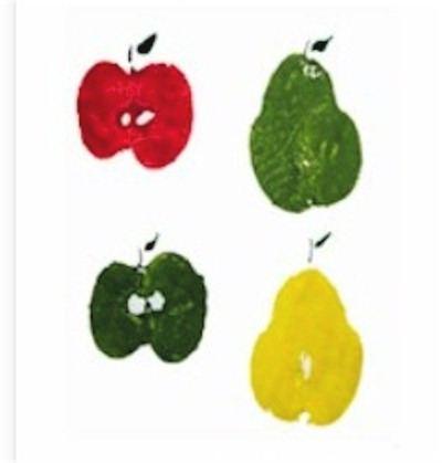 Apple and Pear Prints