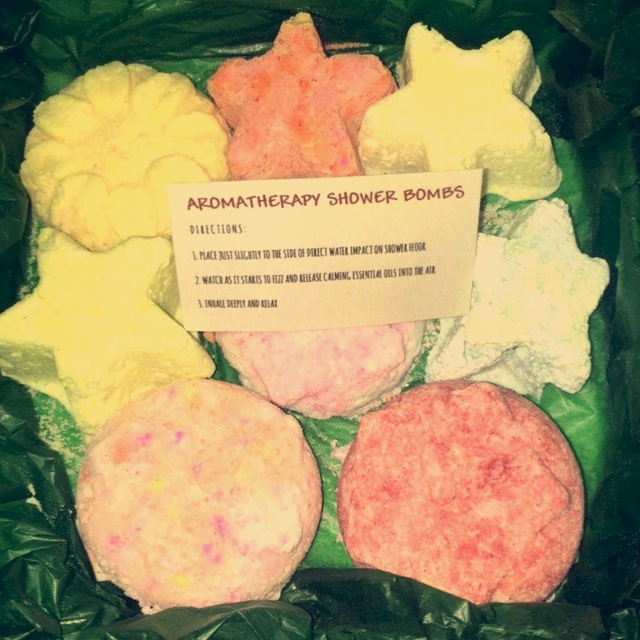 Image of Soothing Aromatherapy Shower Bombs