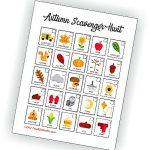 Printable Autumn Scavenger Hunt