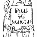 Back-To-School Coloring Page