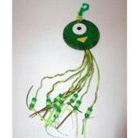 Image of Backpack Octopus With Beads