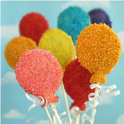 Balloon Birthday Party Pops