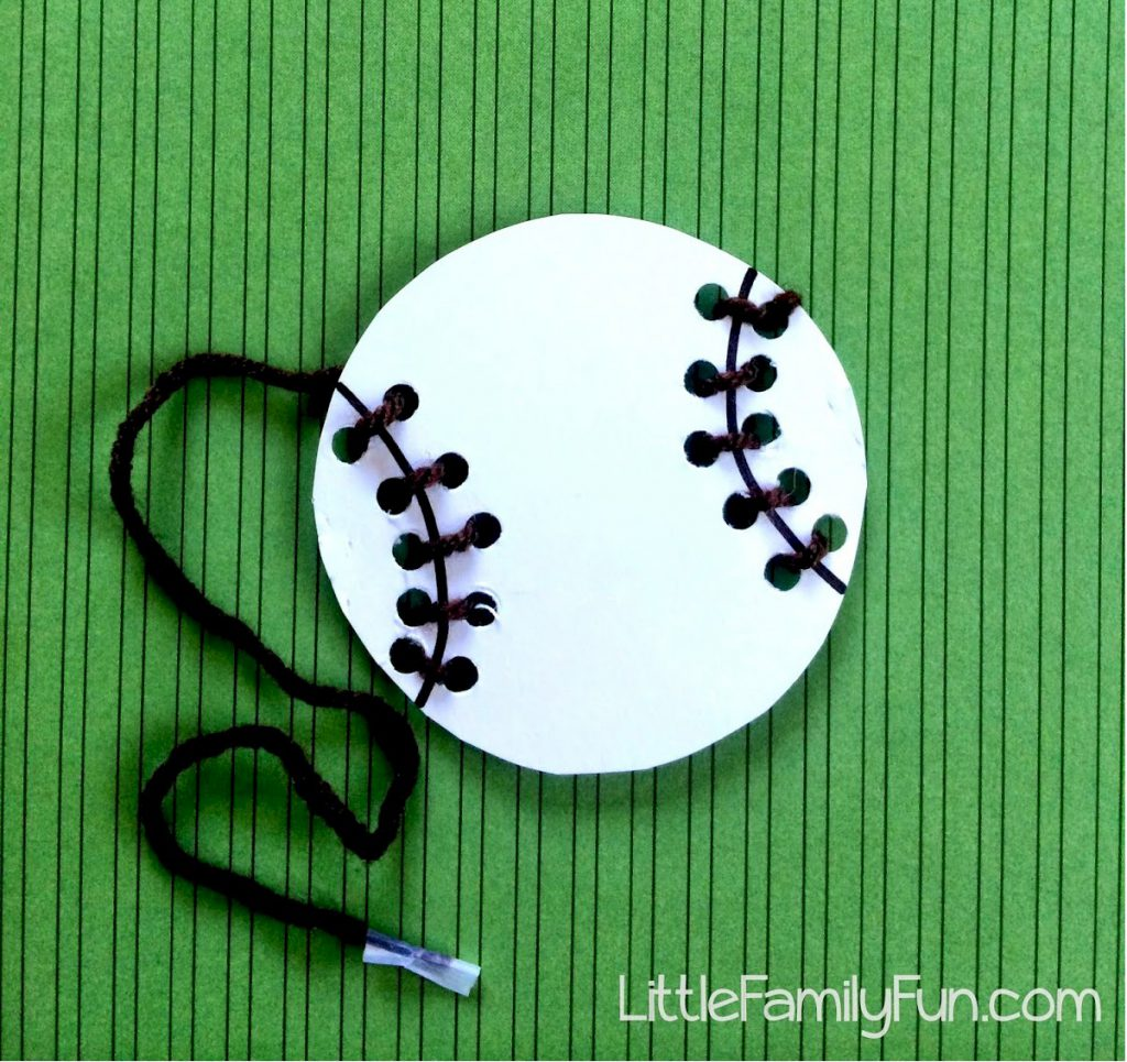 Baseball Lacing Craft