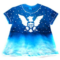 Image of Glue Batik Eagle T Shirt