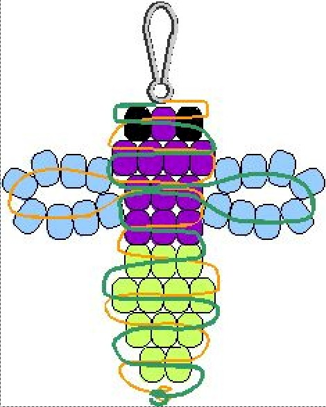 Image of Beaded Firefly