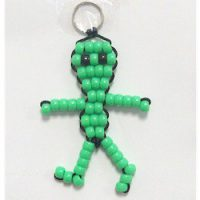 Image of Beaded Key Ring