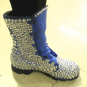 Image of Upcycled Bejeweled Boot Craft