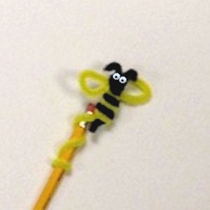 Bee Pencil Topper