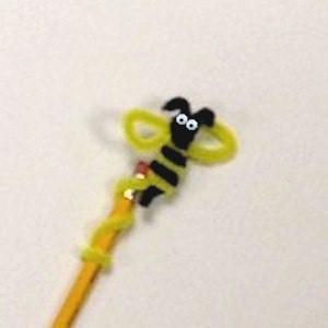Bee Pencil Topper
