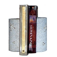 Plaster Bookends