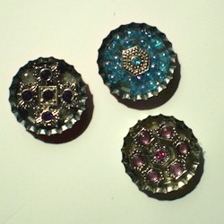 Image of Bottle Cap Pins