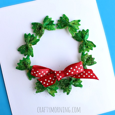 Image of Noodle Christmas Wreath