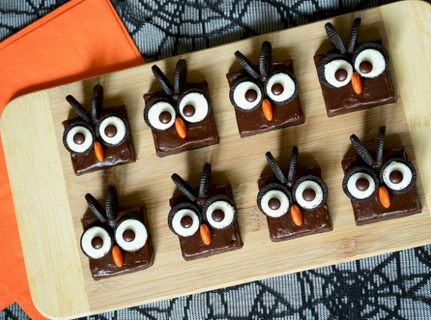 Easy Brownie Owls
