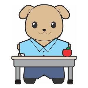 Image of Printable Buddies Paper Doll School Desk