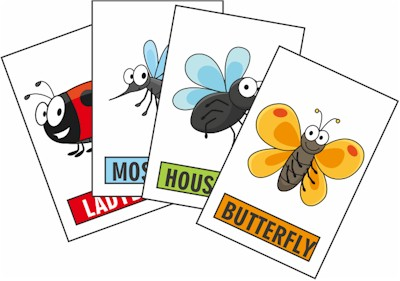 Image of Printable Bug Game