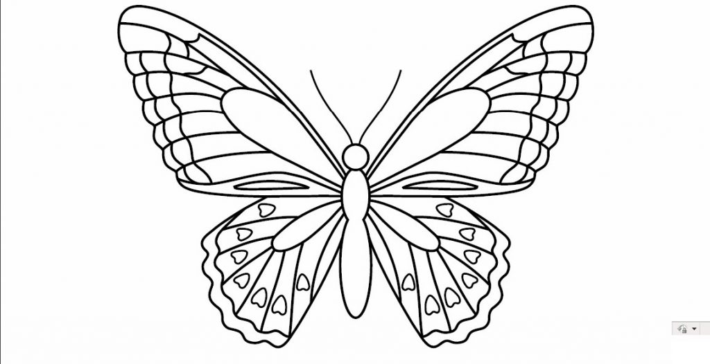 Butterfly Templates To Print Pictures to pin on Pinterest