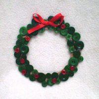 Image of Apple Print Wreath