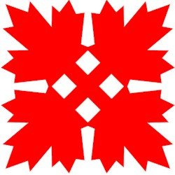 Canadian Maple Leaf Kerigami