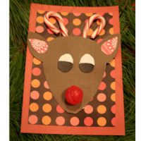 Image of Candy Cane Reindeer