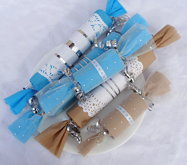 Image of Cardboard Tube Hanukkah Party Favors