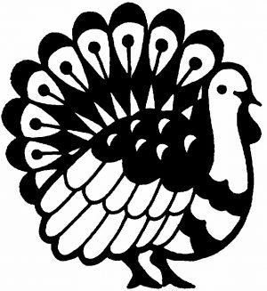 Image of Carved Pumpkin Thanksgiving Turkey Tureen