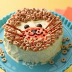 Cheerios Lion Birthday Cake Decoration