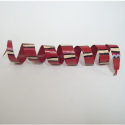 Image of Cardboard Tube Snake