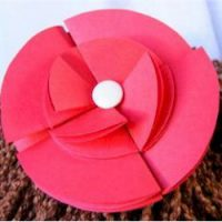 Image of Plastic Bag Hair Rosettes
