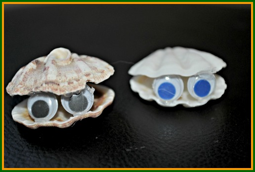 Easy Clam Shell Craft