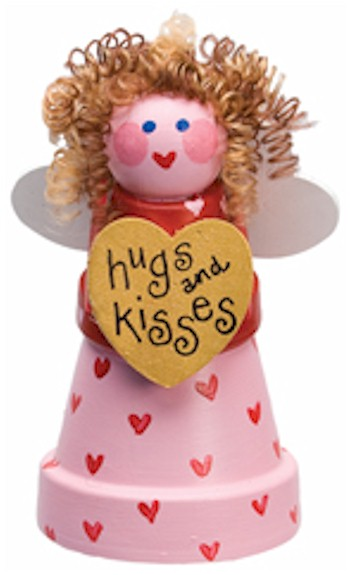 Image of Clay Pot Valentine Fairy