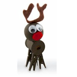 Image of Clothespin Reindeer