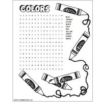 Image of Printable Months Word Search