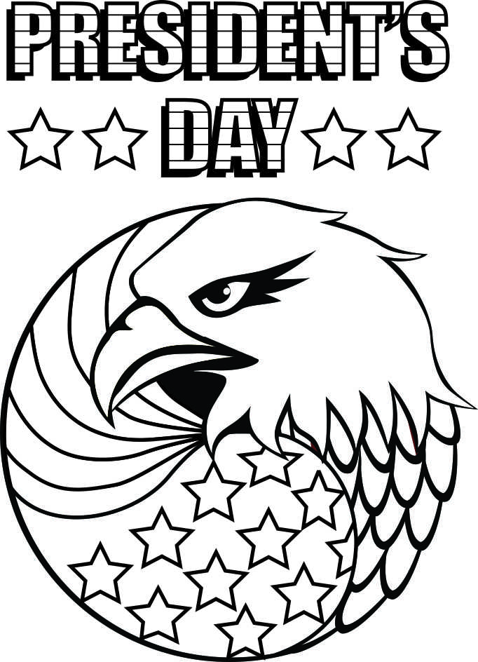 Presidents Day Coloring Pages Printable Coloringpagepresidentsday  Free Kids Crafts