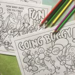 Buggy Coloring Pages and Puzzles