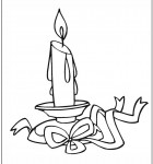 coloring-page-candle