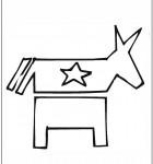 coloring-page-democrat
