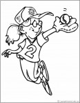 coloring_page_girl_baseballl_player