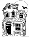 coloring_page_haunted_house
