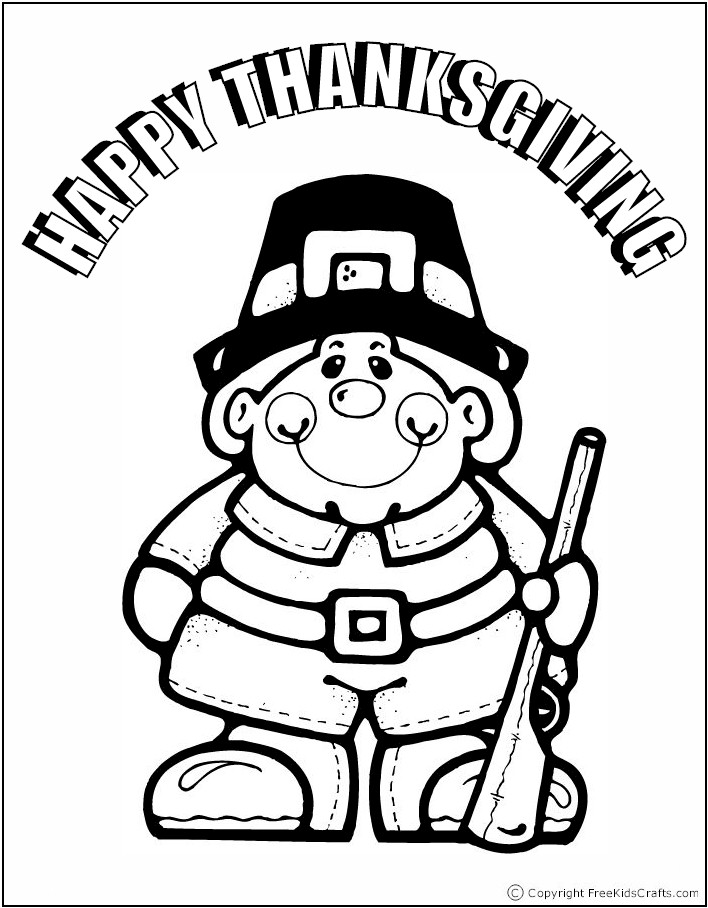 coloring-page-pilgrim-boy