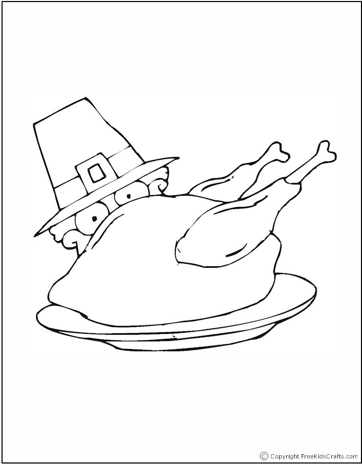 coloring-page-pilgrim-turkey
