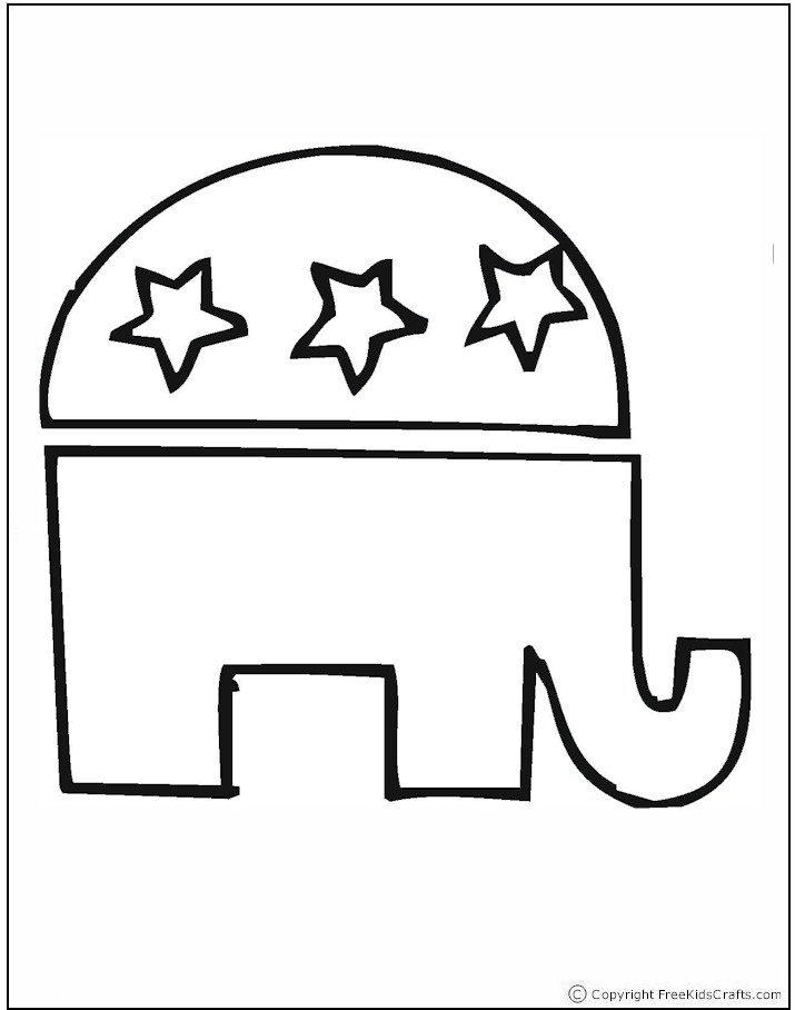 Election Day Coloring Pages – Election Day Worksheets
