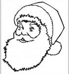 coloring-page-santa