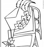 coloring-page-sleigh