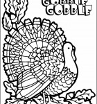 coloring-page-turkey