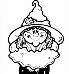 coloring-page-witch